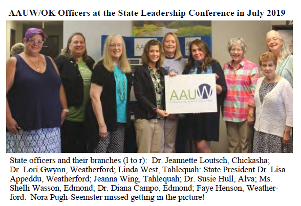 2019 Officers at Conference